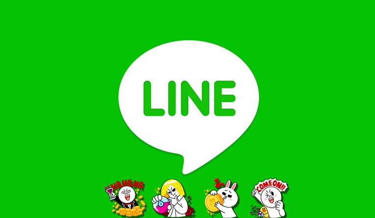 Line Chat app live